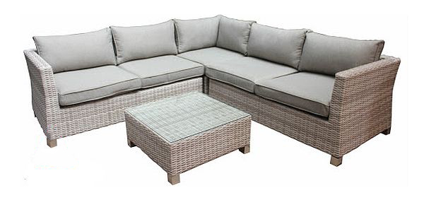 Alison Outdoor Corner Lounge with Coffee Table