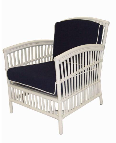 Americana Single Chair White