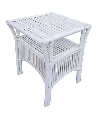 Atrium Table White and Baltic