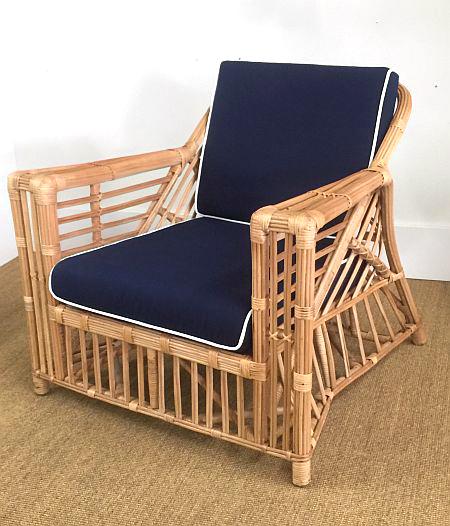 Byron Bay Single Chair, Natural