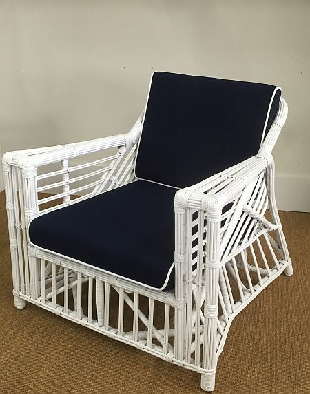Byron Bay Single Chair, White