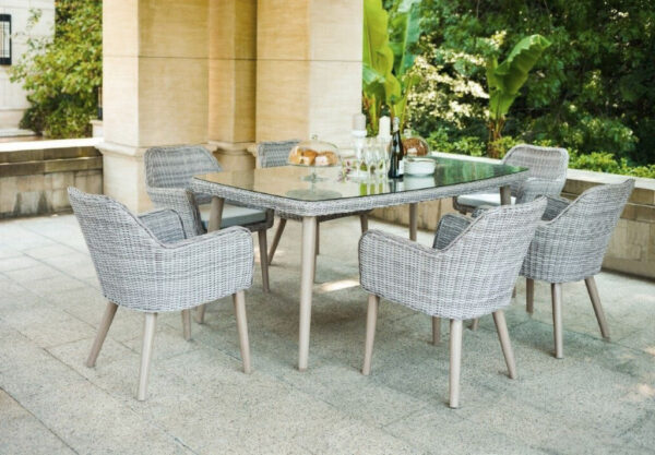 Corso 7 Pc Dining Set