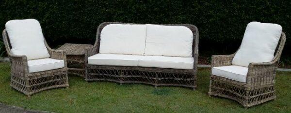 Pioneer 3 Pce Lounge. Kubu Grey