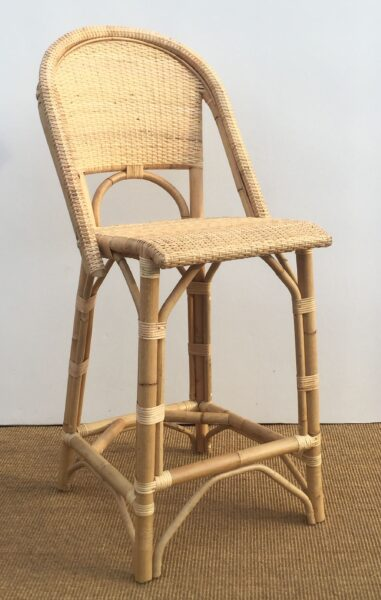 Canne Bar Stool Natural