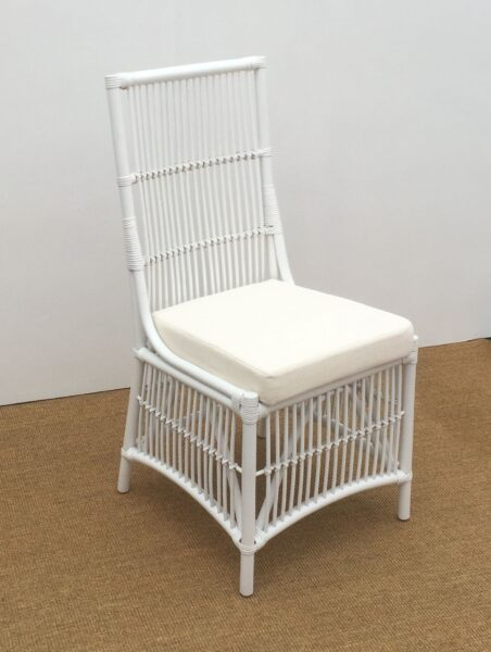 Columbus Side Dining Chair, Solid White