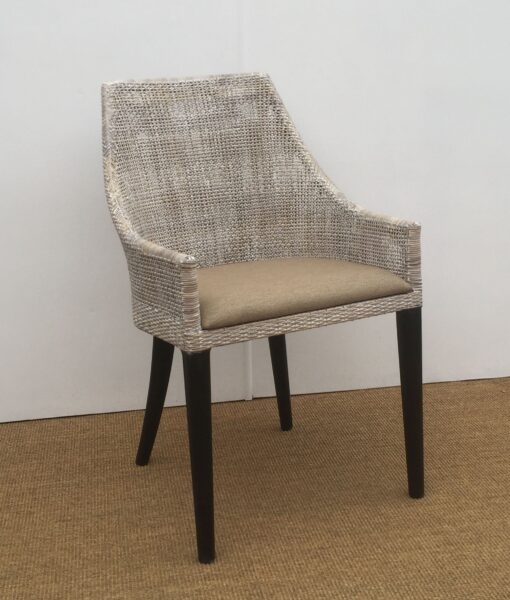 Tennesse Side Chair. Smoked Grey Wash